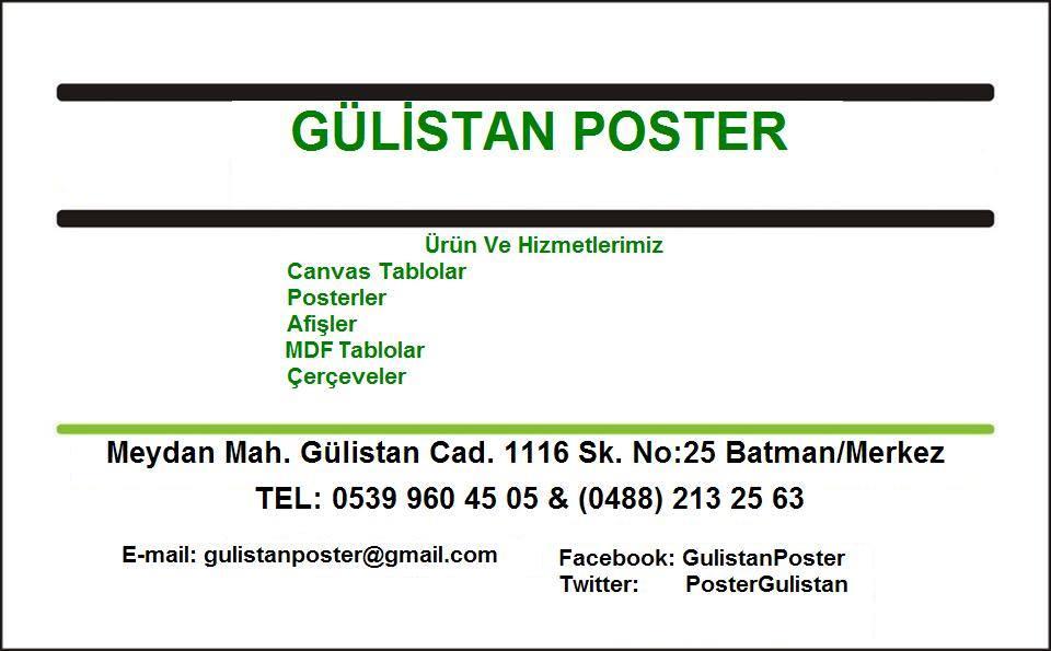 Gülistan Poster