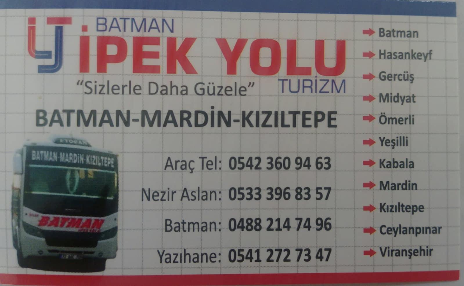 Batman İpek Yolu Turizm
