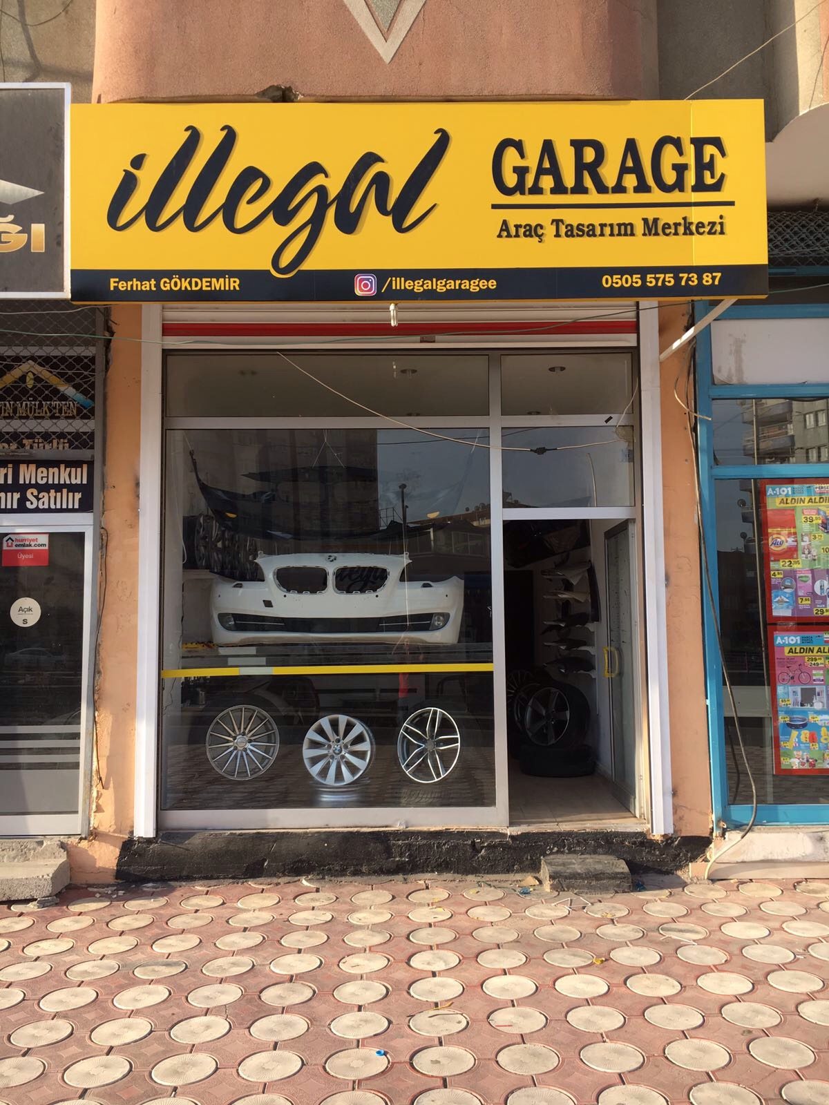 İllegal Garage Car Design