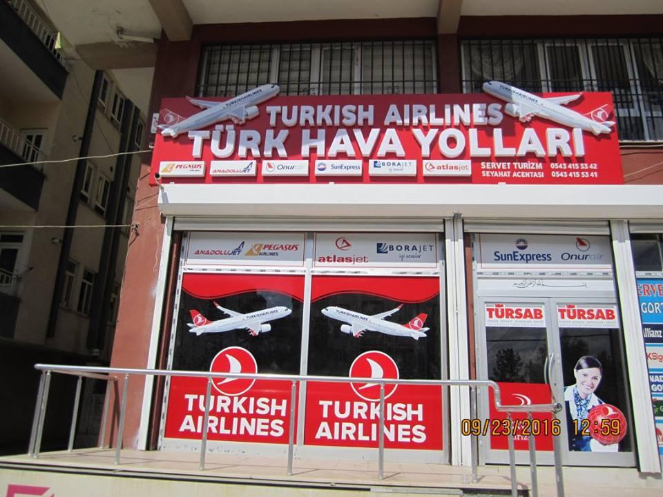 Servet Uçak Turizm Biletleri