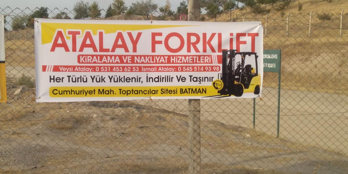 Batman Atalay Forklift