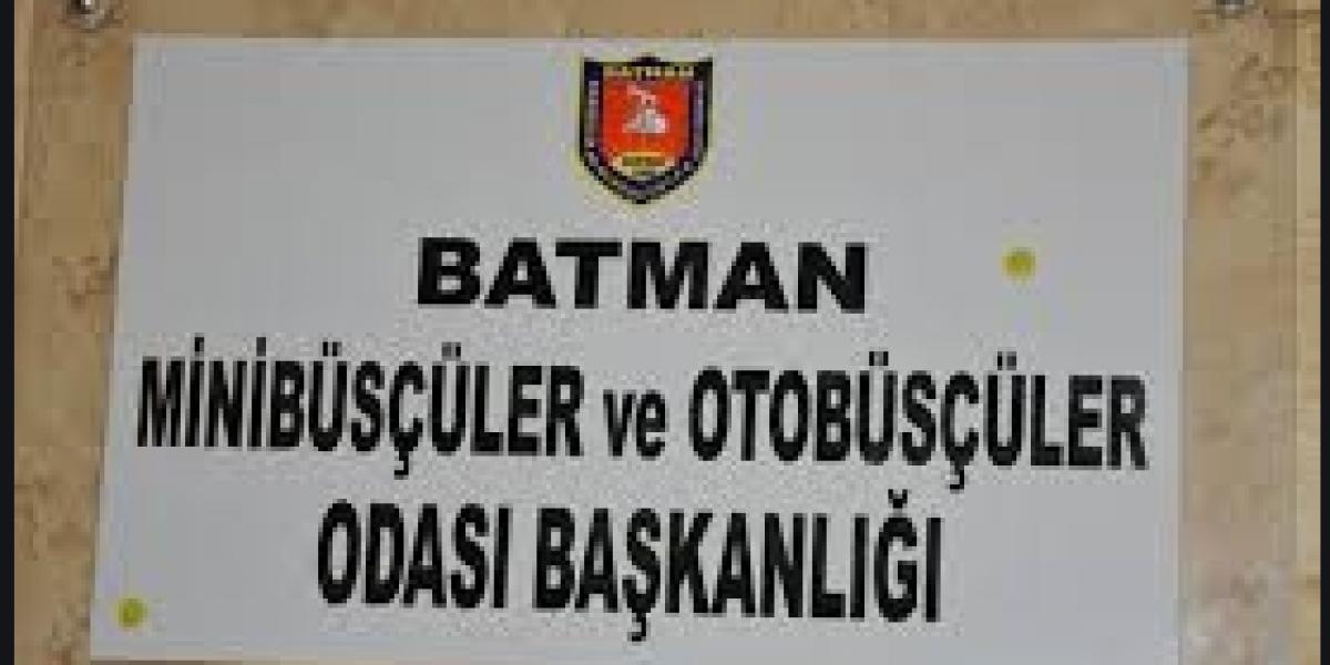 Batman Minibüsçüler ve  Otobüsçüler Odası