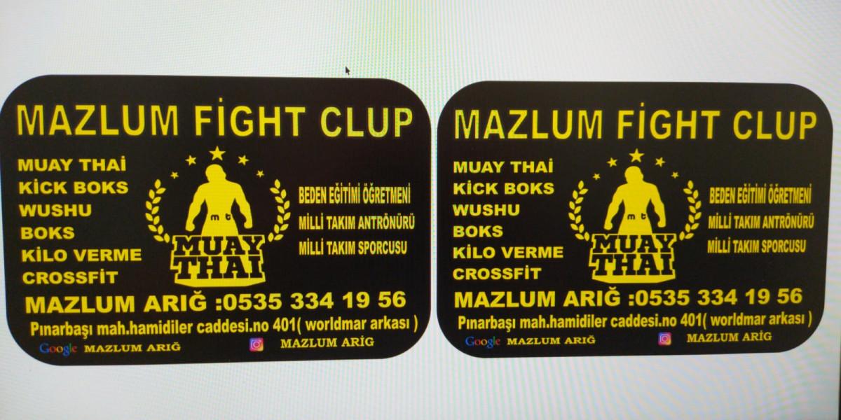 Mazlum Fight Club